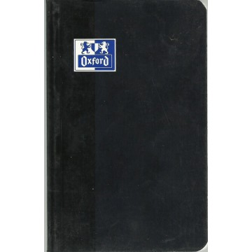 Carnet  oxford 192 pages