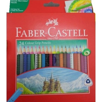 Faber-Castell 24  Crayons...